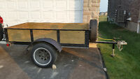 Great utility trailer with full sized tires