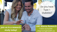 Do you have Type 1 Diabetes? Participate in a study today!