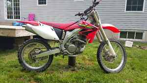 2003 crf450r mint fresh rebuild only 4 tanks of gas