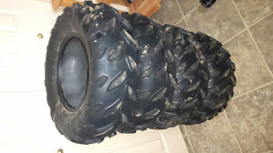 4 new maxxis atv tires for sale