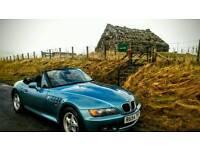 BMW Z3 1.9 1997 Roadster - Long MOT VGC
