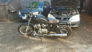 1982 Suzuki gs750t. Bike is at Keele and rogers