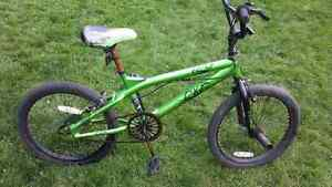 BMX DXR BENT freestyle bike