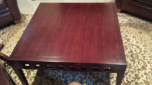 Square Coffee table and side table