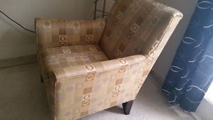 Cheap accent chairs for sale $300 EACH. $550 BOTH.