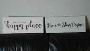 Painted Decor Signs