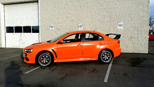 2012 Mitsubishi Evolution GSR + Handling package