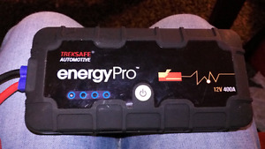 TREKSAFE ENERGY PRO BATTERY CHARGER