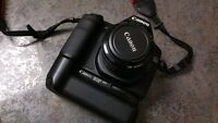 Canon 50D DSLR Camera with Battery Grip
