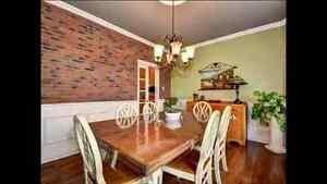 Table de cuisine de style  champêtre