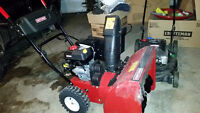 Snow blower in excellent condition bought in 2014