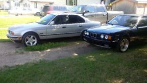 E34 BMW 3 CAR COLLECTION FOR SALE!!!!!  (1) M5 / (2) 525i