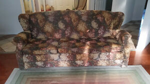 Roxton Maple sofa and chair