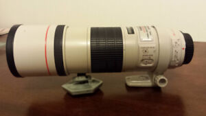 Canon 300mm F4L Image Stabilized Professional lens for sale