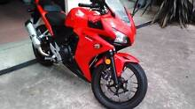 2015 CBR 500R Beauty Point West Tamar Preview