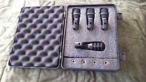 Microphones pour la batterie