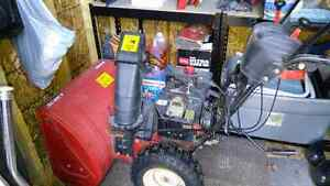 8.5 hp snowblower with electric start