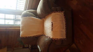 Mircl fiber couch and rocker