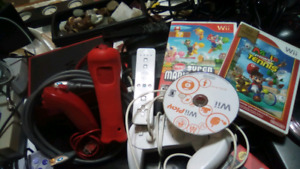 2 Wii's + controller s, games