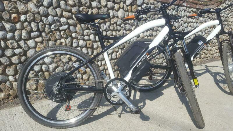 7e94f9b7b4c Cyclotricity Stealth 1000w E BIKE electric bike mountain OFFER AVAILABLE**
