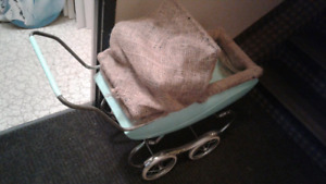 Antique baby stroller great condition