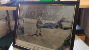 Bobby Orr 1970 black and white picture ,photo