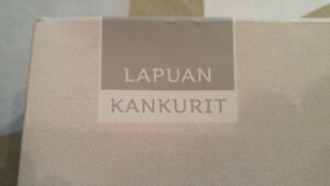 Finnish Lapuankankurit tablecloth and towel set