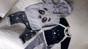2x SEED outfit  bundle - size 3- 6 mths Balaclava Port Phillip Preview
