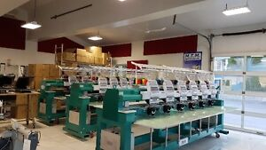 MACHINE A BRODER - Embroidery machine - Feiya - Tajima