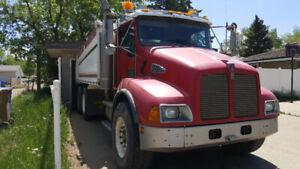 2004 Kenworth T300 gravel truck fresh safety