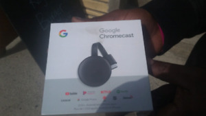 brand new in box google chrome cast