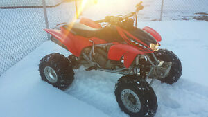 trx 450r in good condition