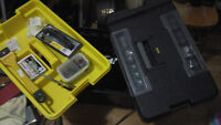 Stanley Tool Chest/ Tool Box & Tools/2 Boites Et Outils