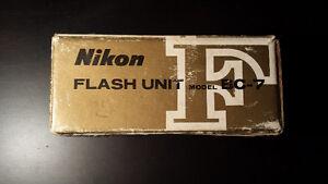 Nikon BC - 7 Shoe Mount Flash for F - F1 - F2  { 3 QTY }