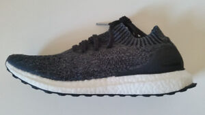 Adidas Ultra Boost Uncaged Black/Gray Size 12 BNDS