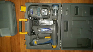 Brad nailer charger and 2 battery's like new