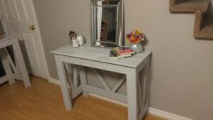 Rustic desk/vanity