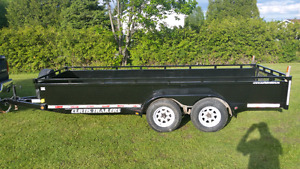 Heavy Duty Curtis Utility Trailer