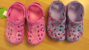Croc style Girls Youth Size 13