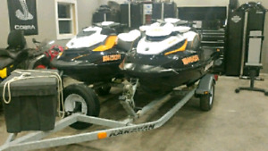 2 x Seadoo Rxt260 and Gtr 215 (low hrs)