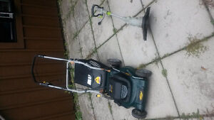 "YARDWORKS 20"" 12 AMP ELECTRIC 3 in 1 and 4.2 AMP 13"" LEAFMASTER Windsor Region Ontario image 1"