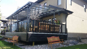 Patio Covers, Deck Covers 780-604-0915
