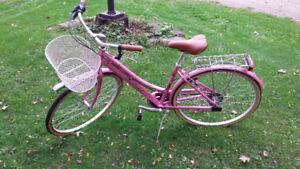 Ladies Bike M.B.M Boulevard 6 speed 24.in wheels or Prop rental