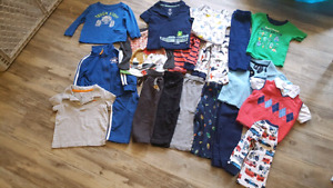 Carters/oshkosh/gerber 18 month lot - perfect condition