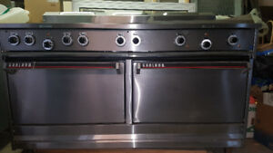 New Garland 60 Inch Electric Stove