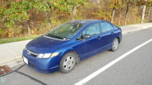 2007 Honda Civic Sedan w/ Set of Winter Tires