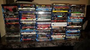 167 Movies - Blu-ray Lot (ALL MUST GO)