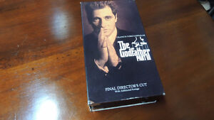 Gofatther part III on vhs with extras