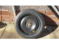 Ford Focus mark 2 brand new spare space saver wheel