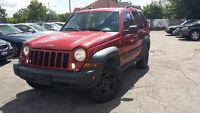 2006 Jeep Liberty 4X4 SUV, Crossover-CERTIFIED & E-TESTED!